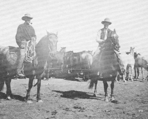 Rope corral at roundup